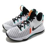 Nike 籃球鞋 LeBron Witness 5 V EP 白 綠 男鞋 五代 氣墊設計 運動鞋 【ACS】 CQ9381-100