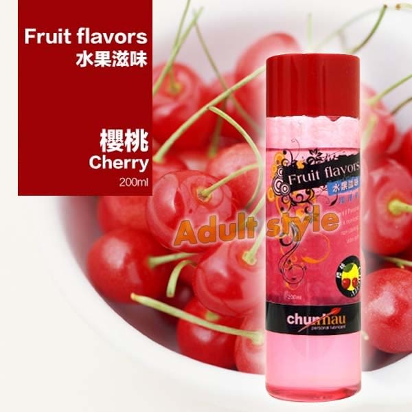 潤滑液 情趣用品 櫻花水果(櫻桃)潤滑液-200ml『滿千88折』