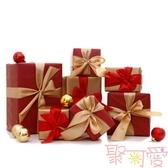 聖誕節擺件裝飾品禮物盒堆頭擺件禮盒裝飾【聚可愛】