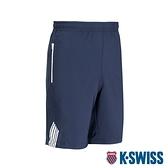 K-SWISS KS Logo Shorts運動短褲-男-藍