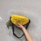 小包包女新款潮斜挎包女韓版洋氣百搭日繫可愛帆布小 『洛小仙女鞋』