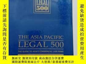 二手書博民逛書店the罕見Asia pacific legal 500 2001