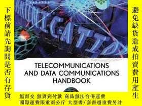 二手書博民逛書店Telecommunications罕見and Data Communications Handbook-電信和數
