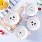 【BlueCat】翹耳兔不鏽鋼泡麵碗...
