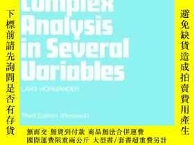 二手書博民逛書店An罕見Introduction To Complex Analysis In Several Variables