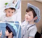嬰兒帽棉男寶寶帽子漁夫帽春夏秋遮陽太陽帽嬰兒童盆帽夏天涼帽潮