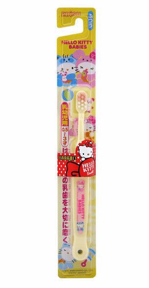 日本EBISU Hello Kitty 0.5 - 3歲兒童牙刷