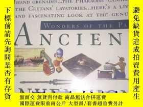 二手書博民逛書店英文原版圖書《ANCIENT罕見INVENTIONS》---一巨