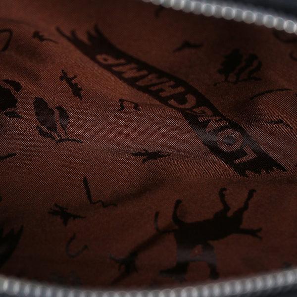 【LONGCHAMP】小羊皮斜背包(栗子色)1061737C95