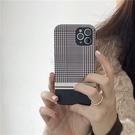 氣質黑白千鳥紋 適用 iPhone12Pro 11 Max Mini Xr X Xs 7 8 plus 蘋果手機殼
