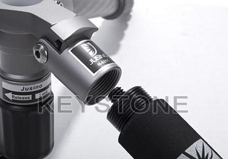 呈現攝影-Jusino JK-428 鋁合金腳架 四節反摺 高硬度 可反折 單腳架 腳釘 165 低19 重1.7kg 公司貨