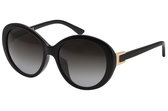 TOD'S 復古圓框 太陽眼鏡 (黑色)TO177D