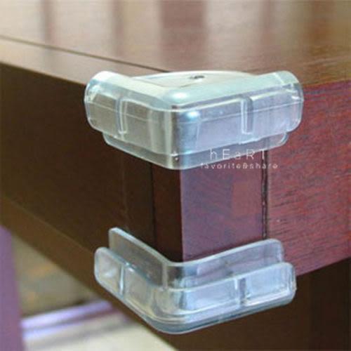 居家防護柔軟透明L型防撞角 1入