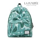 後背包 綠意盎然樹葉印花A4大容量書包-La Poupee樂芙比質感包飾 (現貨)