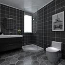 防油壁紙自粘墻紙衛生間浴室廁所防潮瓷磚貼...