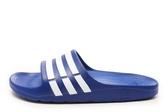 Adidas Duramo Slide [G14309] 男女 運動 涼鞋 拖鞋 休閒 舒適 輕量 藍 白 愛迪達