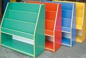 HY-744-8   彩色直立書櫃(F-004)/幼教商品/兒童書櫃/兒童家具