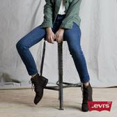 Levis 男友褲 中腰寬鬆版牛仔褲 / 中藍基本款 / 彈性布料