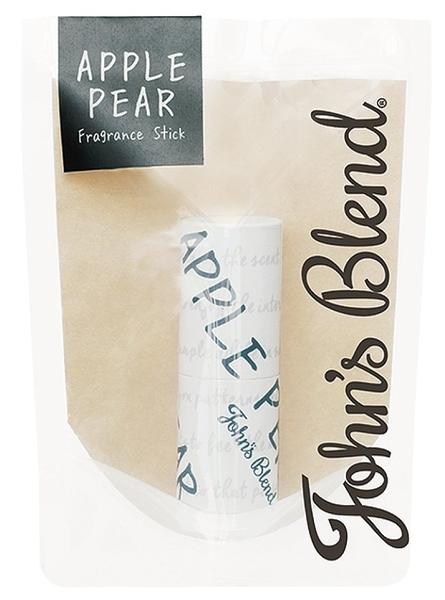 日本 John's Blend香水 香水棒 香氛 芳香 3.5g -蘋果梨 【6318】