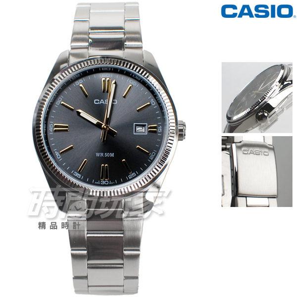 CASIO卡西歐 MTP-1302D-1A2 優雅男仕 風尚鋼帶腕錶 石英男錶 防水 學生錶 黑色 MTP-1302D-1A2VDF