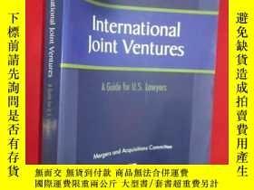 二手書博民逛書店International罕見Joint Ventures: A