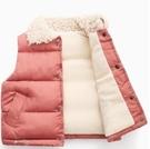 兒童馬甲 棉背心春裝加厚男童女童寶寶羽絨棉馬甲中小童保暖棉服外套【快速出貨八折鉅惠】