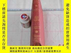 二手書博民逛書店1906年,英文原版,精裝插圖,皮面刷紅,梳棉整理與飛幀,Cot