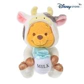 【SAS】日本限定 迪士尼商店 Disney Store 小熊維尼 新年 干支 牛年生肖 玩偶娃娃 16cm