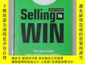 二手書博民逛書店英文原版罕見Selling to Win by Richard