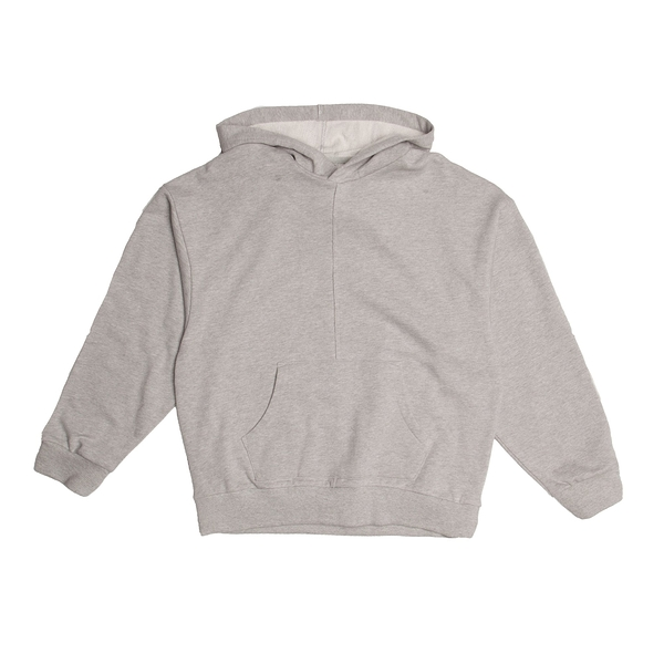 FAIRPLAY LYRIC HEATHER 灰 長袖 連帽T恤 休閒 棉質 寬版 素色 基本【GT Company】