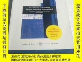 二手書博民逛書店Human罕見Resource Management(平裝 16開 少許劃線,詳情看圖)Y238862 Ray