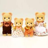 森林家族 人偶 新小熊家庭組