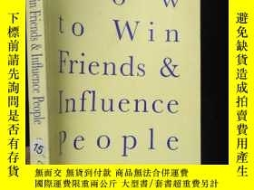 二手書博民逛書店H罕見o w toWin Friends & Influence