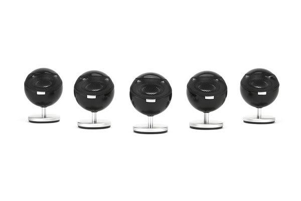 經典數位~丹麥Jamo 360系列家庭劇院喇叭~圓潤笑臉療傷系設計~5支/組~登威公司貨