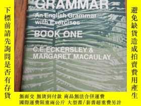 二手書博民逛書店Brighter罕見Grammar: Book. 1Y12800 C.E. Eckersley; M. Mac
