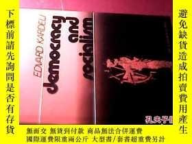 二手書博民逛書店Democracy罕見and Socialism 外文原版148