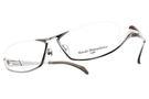 Masaki Matsushima 光學眼鏡 MMF1214 C01 (銀-紅) 金屬潮流系列 β鈦眼鏡 #金橘眼鏡