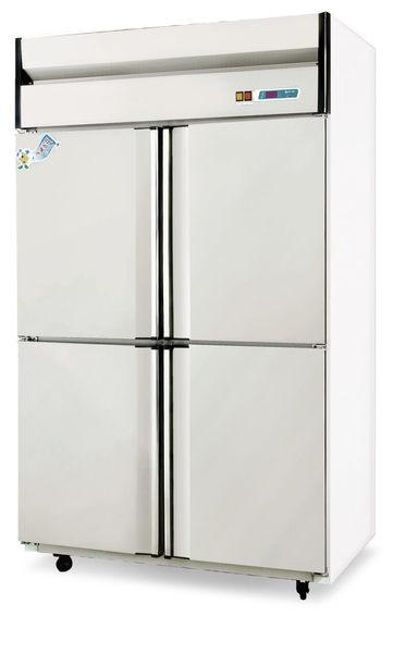 四門式 不銹鋼型冷凍冷藏櫃【風冷無霜】型號:TC-350