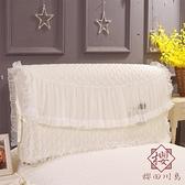 好夢連連床頭罩蕾絲床頭套防塵罩床頭蓋巾床簡約【櫻田川島】