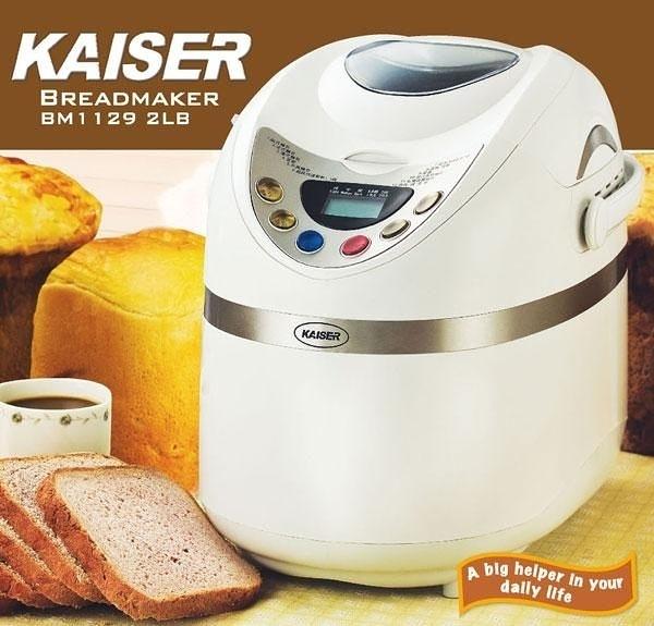 KAISER 威寶  多功能麵包製造機  BM1129