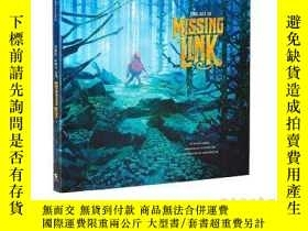 全新書博民逛書店英文原版遺失的環節電影設定集The Art of Missing