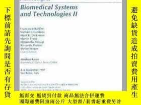 二手書博民逛書店Proceedings罕見of Biomedical Systems and Technologies II: 4