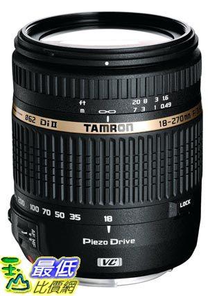 [103 美國直購 ] Tamron AF 18-270mm f/3.5-6.3 VC 變焦鏡頭, Model BOO8E Filter Size 062mm $20640