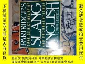 二手書博民逛書店partridge s罕見concise dictionary