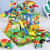 益智積木拼裝7男孩子1女孩2城市寶寶8兒童玩具3-6周歲樂高 js13455『小美日記』