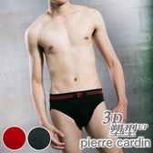 【Pierre Cardin皮爾卡登】3D立體提臀塑型三角褲(單件)-PS017
