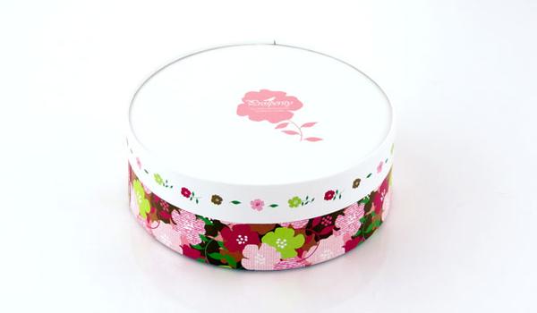 16CM白色花園 附棉紙底板 6吋 乳酪盒 起司蛋糕盒 外帶盒 禮盒 包裝盒 派盒【C007】