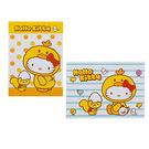 《Sanrio》HELLO KITTY變裝小雞系列可愛明信片組(一組2張入)_RD00557