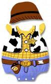 貝比幸福小舖【01699-A】歐美百搭可愛卡通造型無袖包屁衣+帽子大集合-15小胡迪