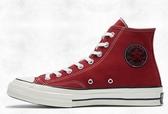 CONVERSE-CHUCK 70 ALL SATR 男女情侶款高筒帆布鞋 紅-NO.165031C